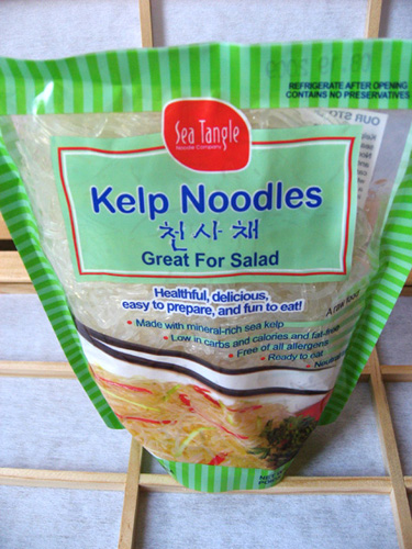 Kelp Noodle and Vegetable Stir Fry | Food Allergy Cooking