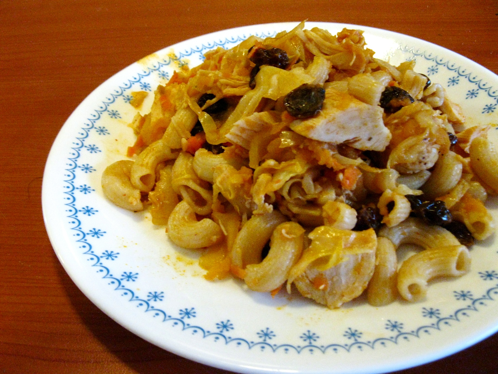... of Gluten-Free Goddess' Chicken Curry Apple Stir-Fry recipe